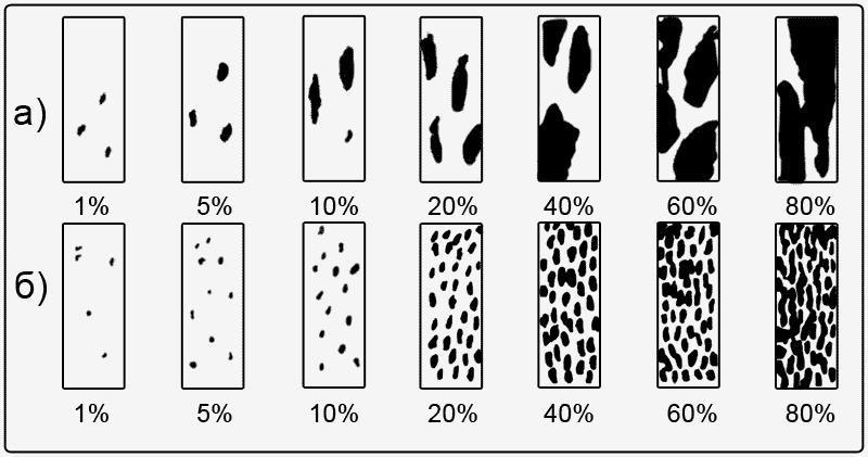 Шкала учета мучнистой росы и ржавчины зерновых колосовых