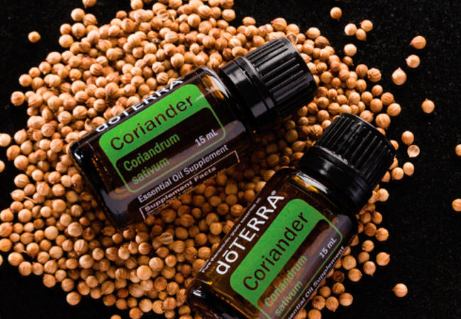 Химический состав эфирного масла кориандра