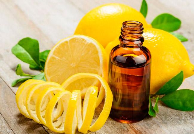 Применение эфирного масла лимона для косметических целей