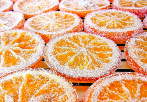 Цукаты из лимона
