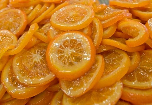 Лимонные цукаты, рецепт из лимонных долек