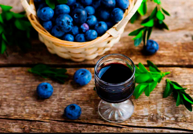 Вино из голубики с медом в домашних условиях