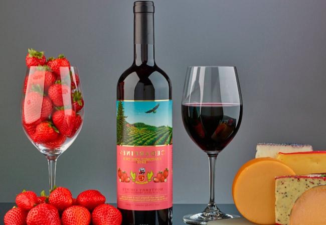 Крепленое клубничное вино в домашних условиях