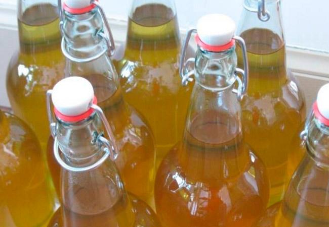 Вино из недозрелых яблок: рецепт из свежего сока