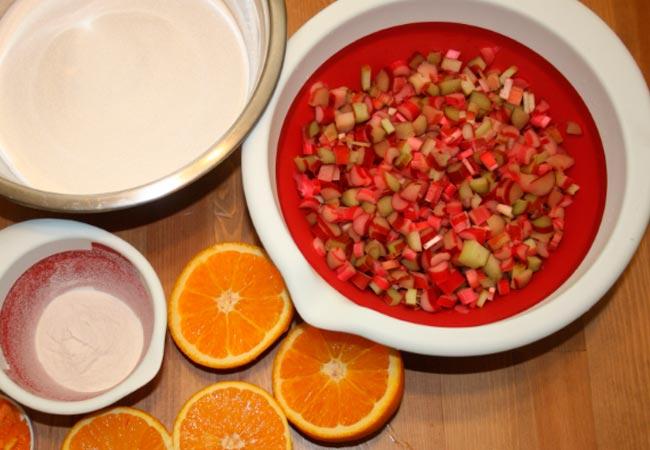 Как приготовить варенье из стеблейревеня, рецепт с апельсином