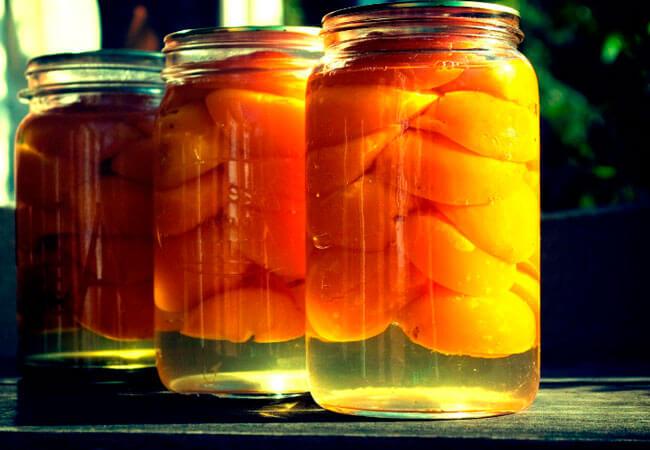 Вино из абрикосового компота