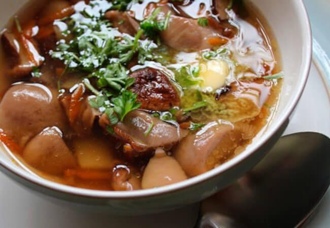 Сколько времени варить боровики в супе