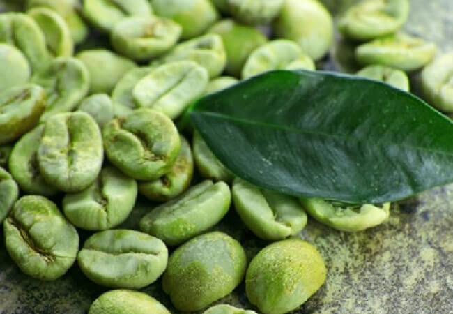 Масло зеленого кофе для лица