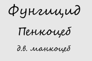 Пенкоцеб - д.в. манкоцеб
