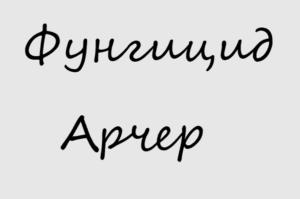 Фунгицид Арчер