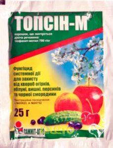 Фунгицид Топсин М (д.в. тиофанат метил)