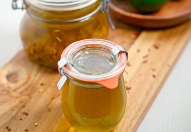 Рецепт чеснока в растительном масле