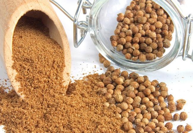 Кориандр: хранение (семена)