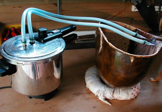 Оборудование для стерилизации субстрата для выращивания грибов