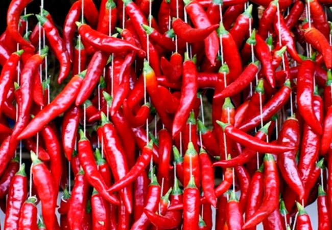 Как хранить сушеный перец чили