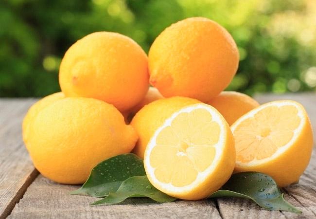 Консервированные лимоны с чесноком