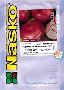 Крымский лук: описание сорта
