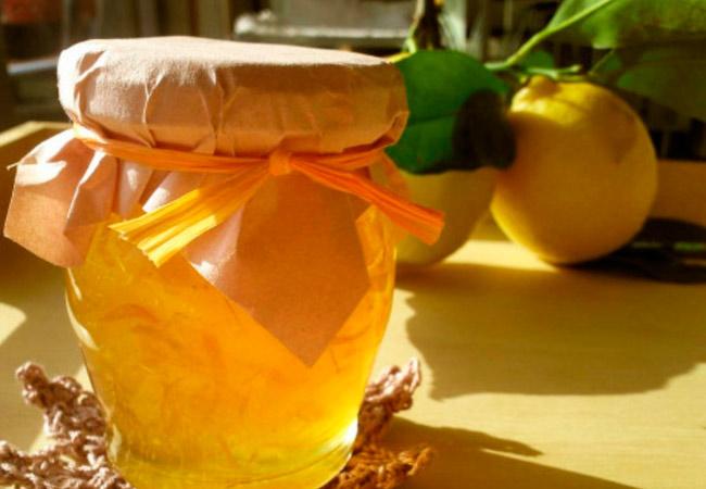 Домашнее повидло из лимонов