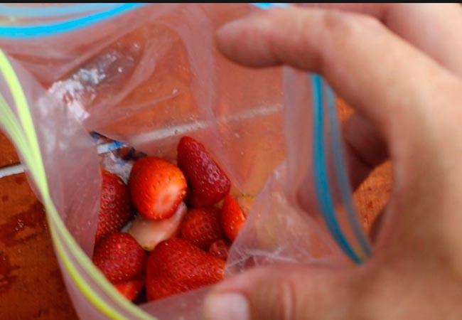 Как хранить и размораживать клубнику