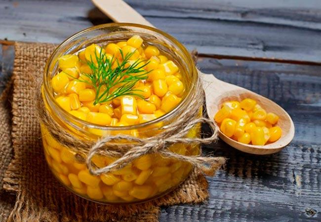 Домашняя консервированная кукуруза с уксусом