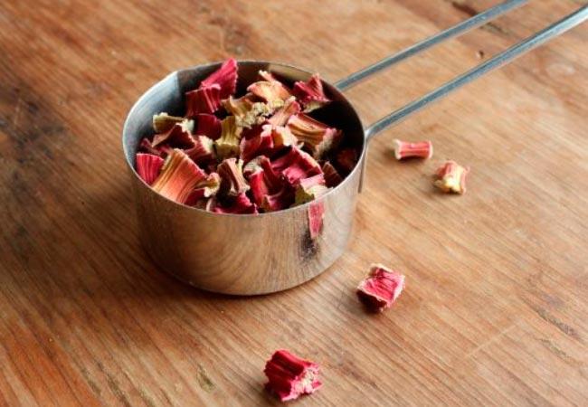 Рецепты с сушеным ревенем