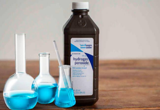 Дезинфекция при помощи пероксида водорода