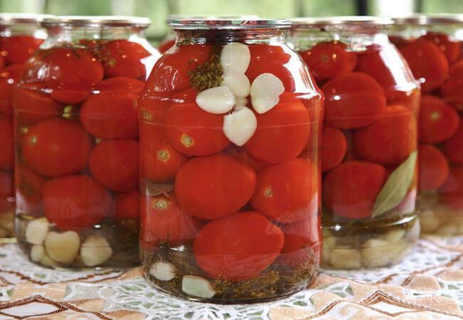 Рецепт квашеных помидоров без уксуса