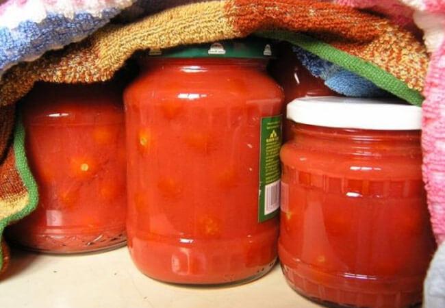 Рецепт помидор в собственном соку на зиму