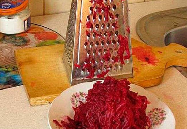 Простой рецепт заготовки из свеклы и фасоли