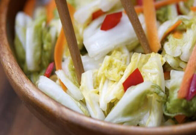 Рецепт приготовления маринованной капусты имбирем